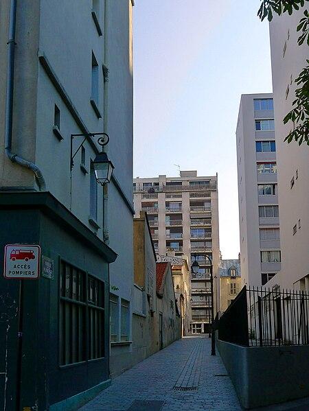 Fichier:P1030156 Paris XII ruelle de la Planchette rwk.JPG