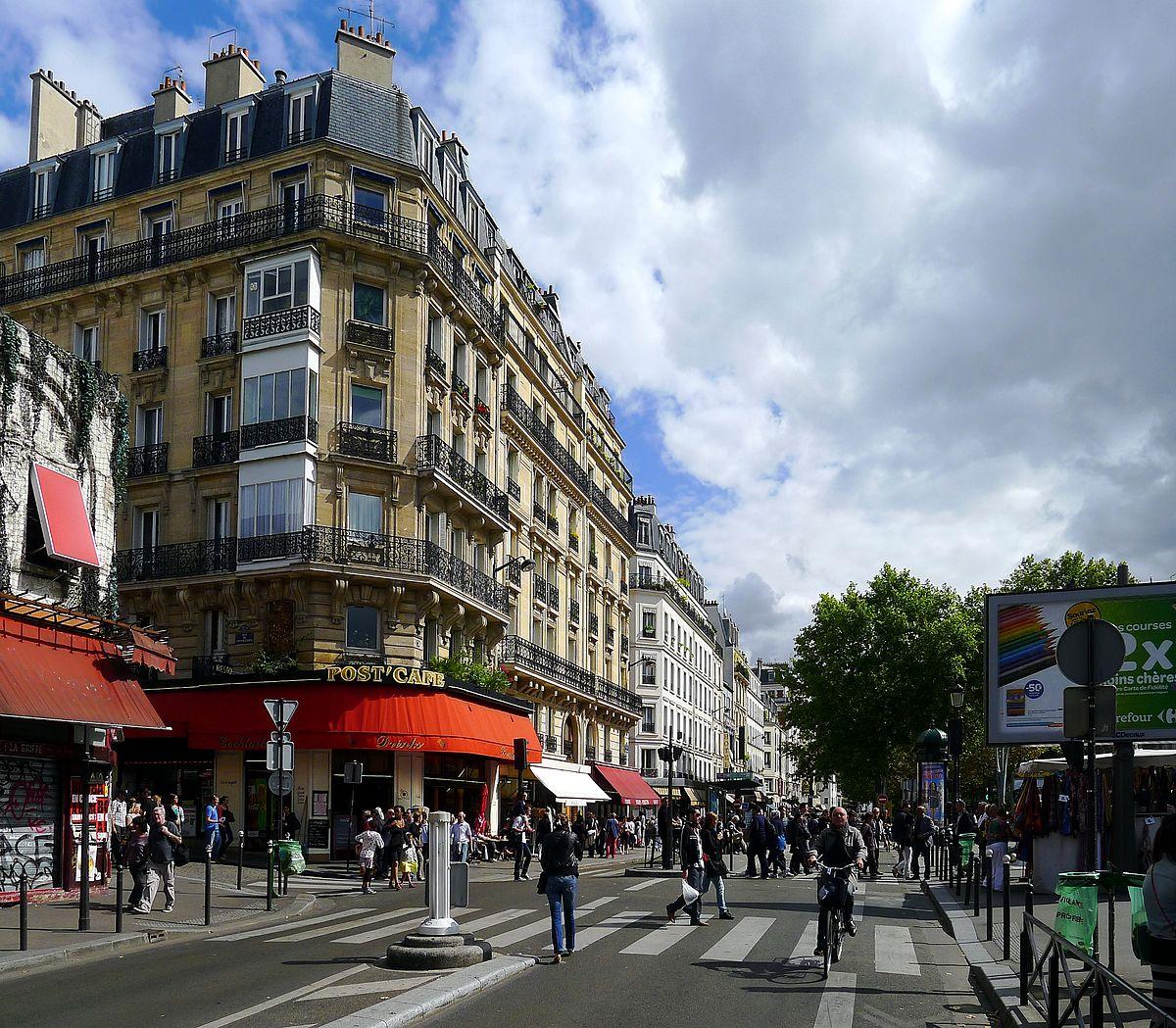 Boulevard de rochechouart wikip dia - 30 avenue de la porte de clignancourt ...