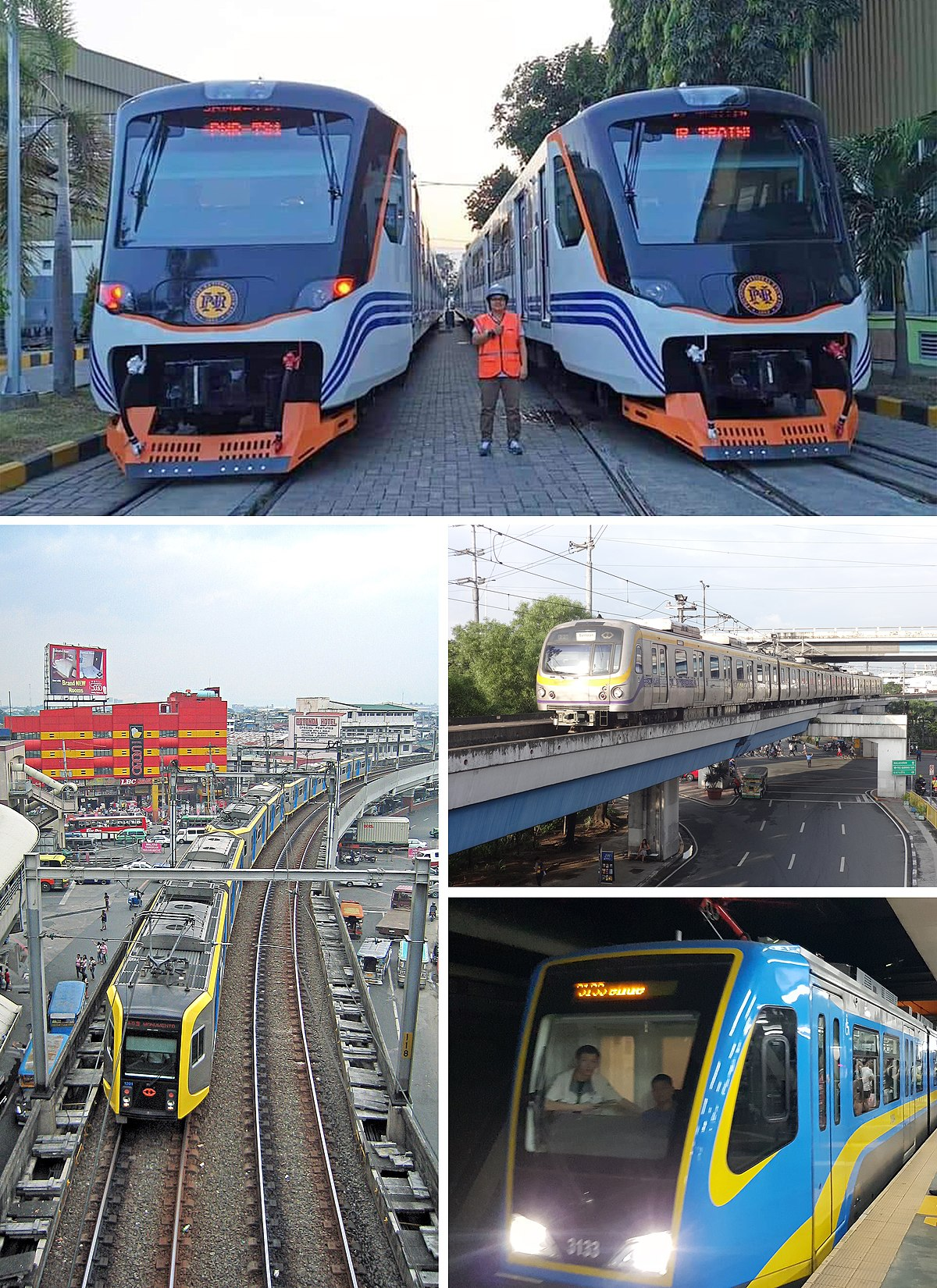 Rail Transport In The Philippines Wikipedia