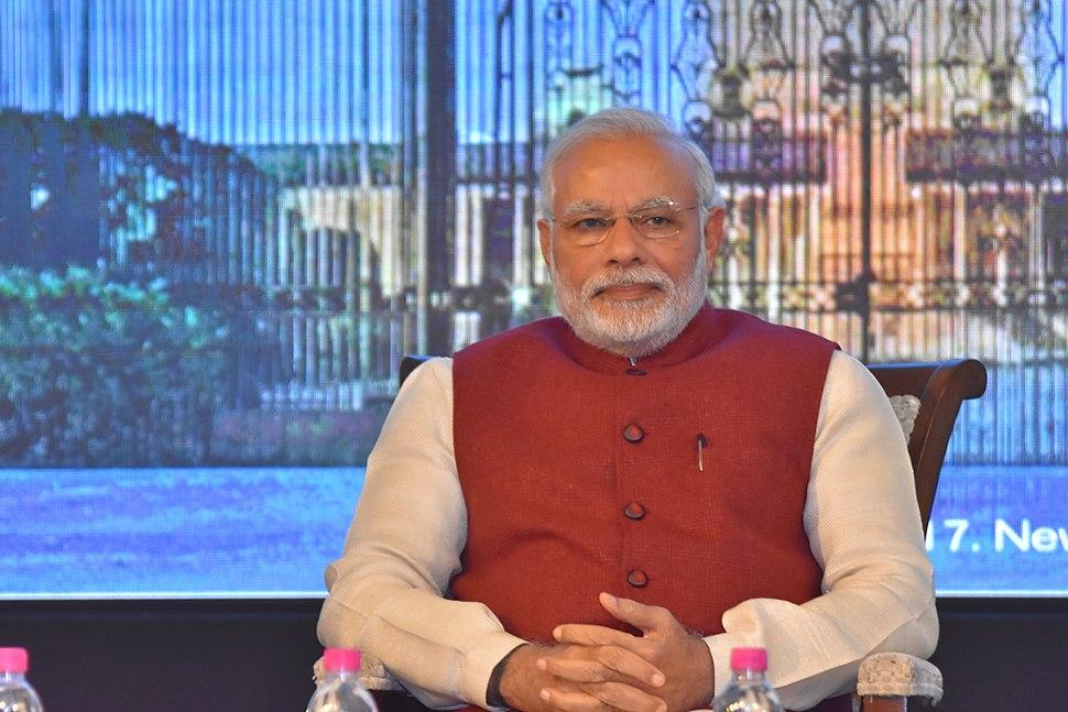 PM Modi during Raisina 2017
