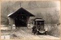 PTT-Archiv P-95-4 Eines der ersten Postautos bei Kappelenbruecke Bern Eymatt 1907 Wagen 2656 Saurer.tif