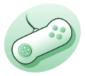 P videogame controller1 green.png