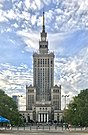 Palace of Culture and Science seen, Warsaw, Poland 2019.jpg