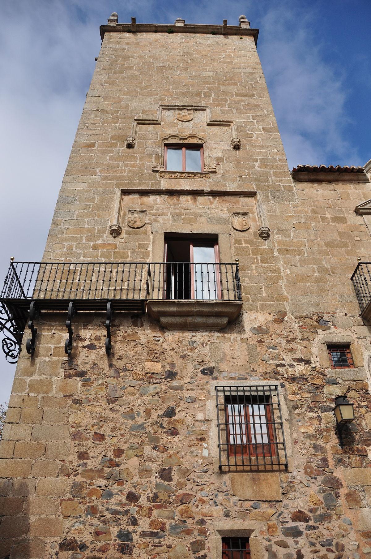 Palacio del Comendador de Alcuéscar - Wikipedia, la enciclopedia libre