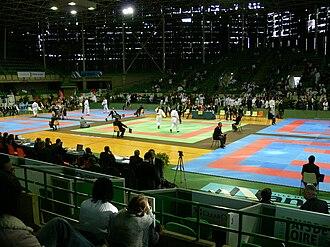 EuroBasket 1983 - Image: Palais Sports Beaulieu Nantes Karate