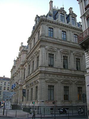 Palais de la Bourse, Lyon - Image: Palais de la Bourse en 2008