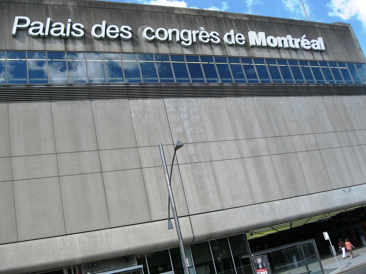 File palais des congres de montreal wikimedia commons - Salon de l emploi palais des congres ...