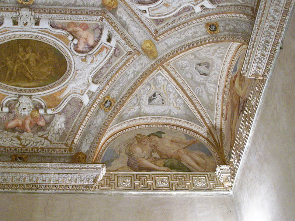 Palazzo Chiericati ceiling 3