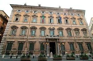 Senate of the Republic (Italy) - Palazzo Madama today