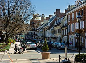 Palmer Square - Image: Palmer Square in Princeton
