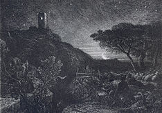 The Lonely Tower. Etching, State V. 1869