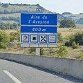 Panneau Aire de l'Aveyron 400 m.jpg