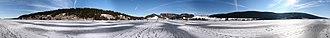 Lac de Joux - Image: Panorama 360 Lac de Joux