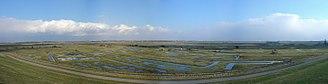Yerseke - Panorama of the Yerseke Moer