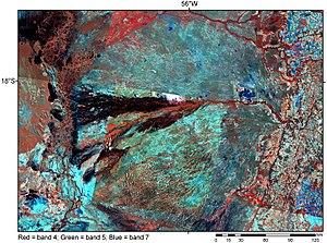 Megafan - Image: Pantanal Basin
