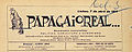 Papagaio Real, 7 Abril 1914.jpg