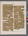 Papyrus. Hieratischer Papyrus aus Theben (Thebes). No. VII, Lin. 65-105. (jetzt im K. Museum zu Berlin.) (NYPL b14291191-44349).jpg