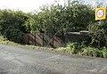 Parapet of a bridge over a disused railway - geograph.org.uk - 1539124.jpg