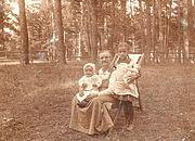Parc de datcha près Moscou 1917