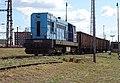 Pardubice hlavní nádraží, lokomotiva 742 ČD Cargo (02).jpg