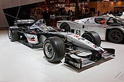 Paris - Retromobile 2014 - McLaren-Mercedes MP4-15 - 2000 - 002.jpg