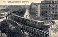 Paris - Vue generale du Metropolitain Boulevard de Grenelle vers Passy.jpg