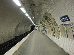 Paris Métro Botzaris 7bis