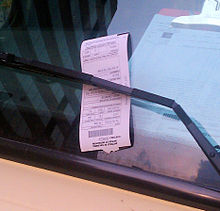 Traffic ticket - Wikipedia