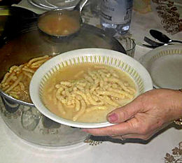 Piatto di passatelli