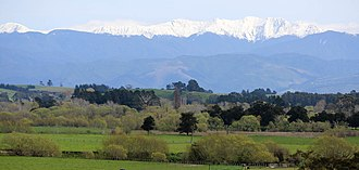 Tararua Range - Tararua Range from Wairarapa