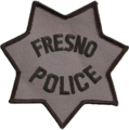 Patch of the Fresno Police Department (subdued).png