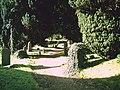 Path through the churchyard - geograph.org.uk - 591460.jpg