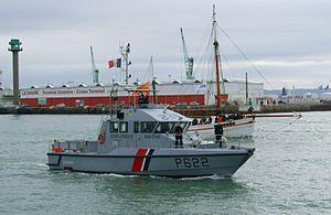 Maritime Gendarmerie - Image: Patrouilleur Gendarmerie Maritime