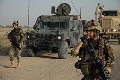Soldaten des 32. Gebirgspionierregiments (Turin) in Afghanistan