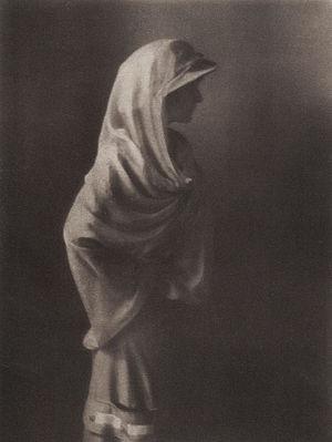 "Paul Haviland - ""Miss Doris Keane"" by Paul Haviland. Published in Camera Work, No 39, 1912"