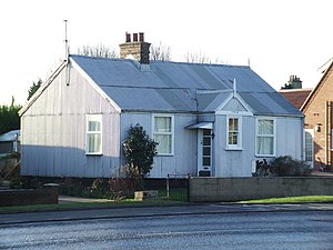 "Immingham - ""Tin house"" Iron clad housing built 1907. (2009)"