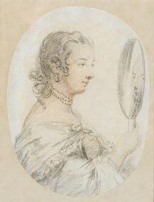 Penelope Carwardine - A miniature by Carwardine