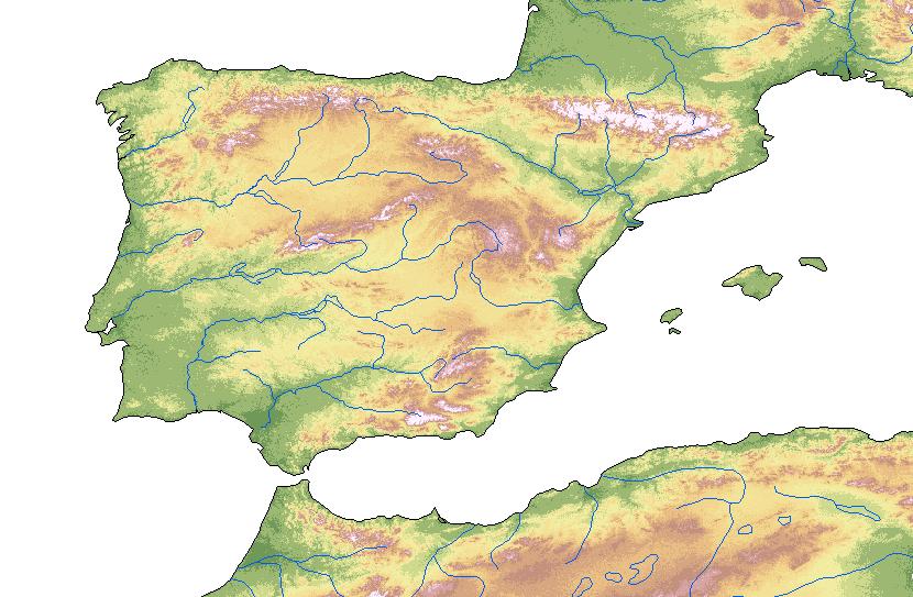 Peninsula Iberica - Iberian Peninsula