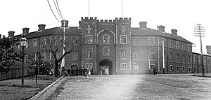 Richard Roach Jewell - Pensioners' Barracks in 1905 designed by Jewell in 1863