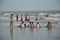 People Enjoying Sea Waves - New Digha Beach - East Midnapore 2015-05-01 8840.JPG