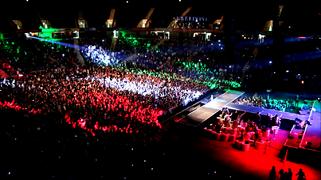 Nowruz wikipedia an iranian diasporan nowruz concert at the oberhausen arena germany m4hsunfo