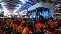 People from Rio de Janeiro singing and dancing samba at Salgueiro court.jpg