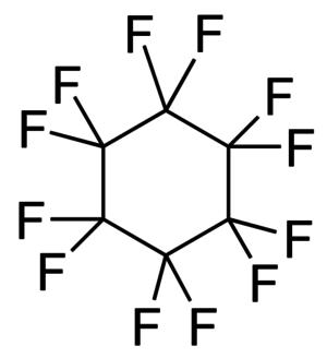 Perfluorocyclohexane - Image: Perfluorocyclohexane