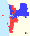 Perth divisions by party 2016.png