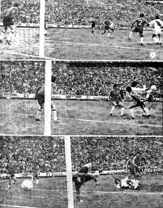 Chile–Peru football rivalry - Peru's match against Chile at the 1975 Copa América