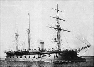 Pervenets-class ironclad - Image: Pervenetz (1863)