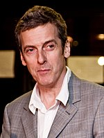 Photo of Peter Capaldi at the 2009 Edinburgh Film Festival.