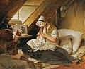 Peter Fendi - Die arme Offizierswitwe - 2272 - Österreichische Galerie Belvedere.jpg