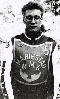 Peter Karlsson (speedway rider) Swedish speedway rider