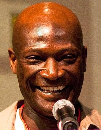 Peter Mensah - Image: Peter Mensah Comic Con 2009